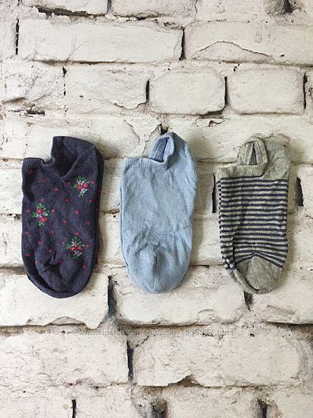 Набор носки детские 3 пары низкие