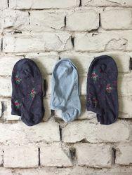 Набор носки детские 3 пары на девочку