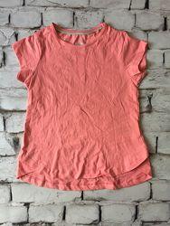 Розовая футболка для девочки Lupilu