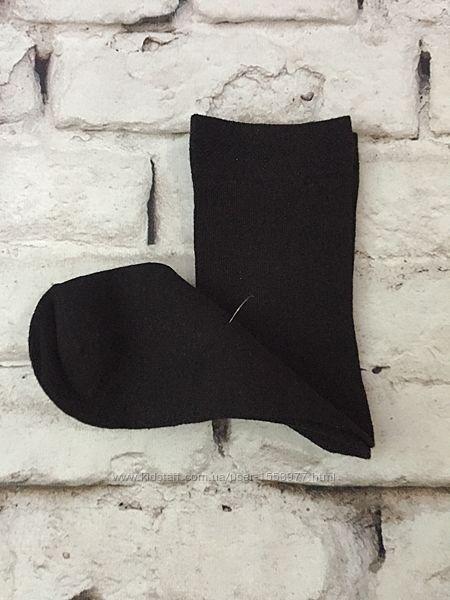 Черные носки классической длины