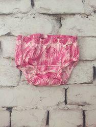 Шортики трусики розовые плавочки летние для малышки