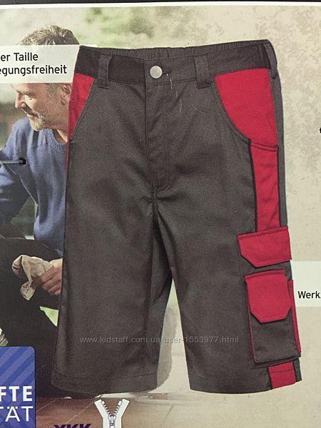 Рабочие шорты стильные с множеством карманов спецодежда