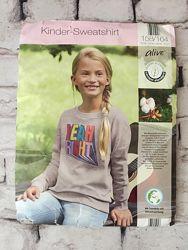 Крутой свитшот детский свитер яркий рисунок толстовка подростковая