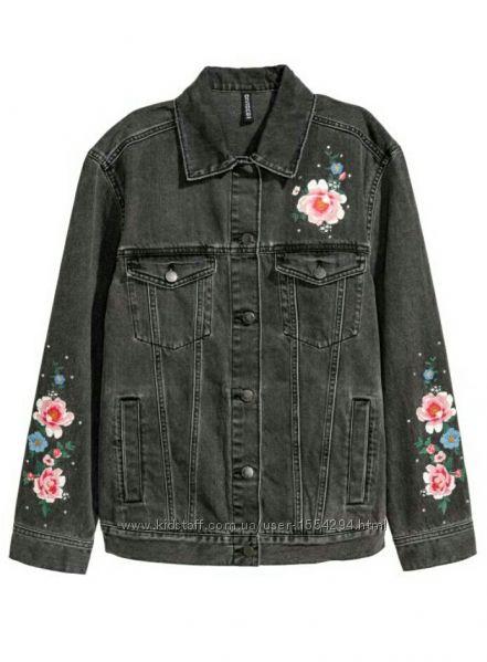 Джинсовая женская куртка Н&М