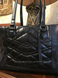 Большая вместительная сумка Clarks, натуральная кожа