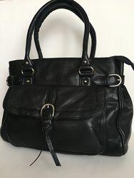 Практичная сумка Clarks, натуральная кожа