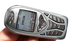 Siemens M55 спортивный ретро телефон из Германии 2003 год окраски Palladium