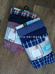 Primark, Трусы семейки мужские, хлопок, набор 3шт.