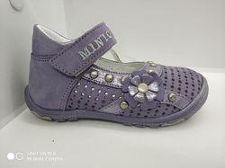 Туфли на девочку натуральная кожа Minimen c 20 по 24 размеры