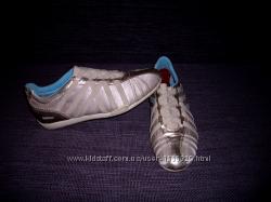 Туфли мокасины кроссовки Geox Respira , кожа текстиль, Vietnam, 26, 5 см