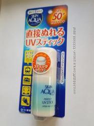 Солнцезащитный стик SPF 50 PA Rohto Skin Aqua Perfect UV Stick, Япония