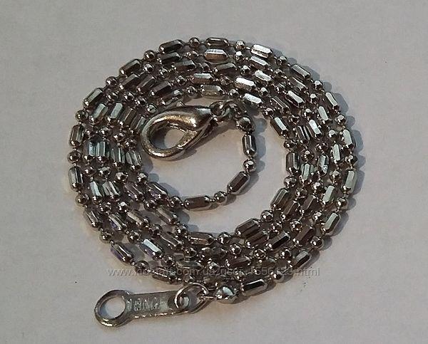 Цепочка серебрение 18 kgf