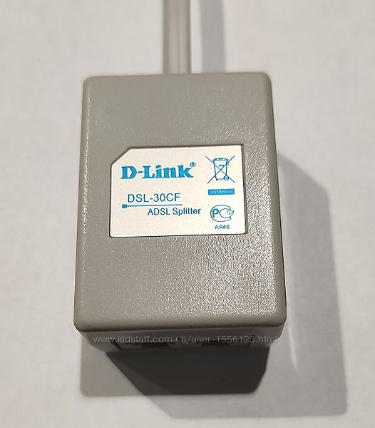 Сплиттер D-Link DSL-30CF