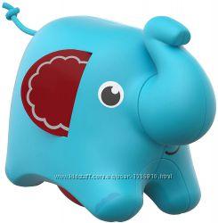 роллер Слоненок Fisher-Price Roller Elephant развивающая игрушка