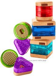 Набор развивающих блоков с сюрпризами Fisher-Price Wooden Toys