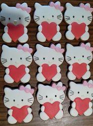 Имбирные пряники Hello Kitty