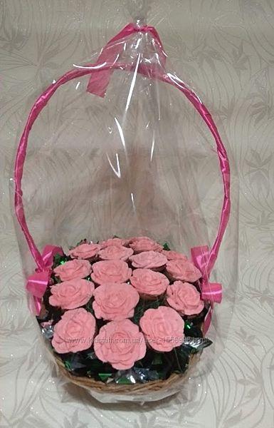 Букет из 17 пряничных роз