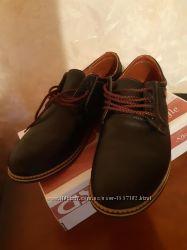 Кожаные туфли на шнуровке 29, 5 см 44-45 р.