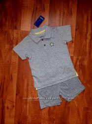 Качественный фирменный комплект Lupilu для мальчика 12-24 мес. 86-92