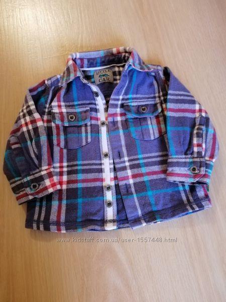 Красивая рубашка Mothercare.