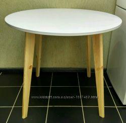 Стол на Кухню Обеденный белый дерево
