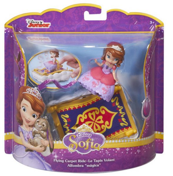 Кукла Disney Princess Веселые приключения Софии, ковер-самолетCHJ 68