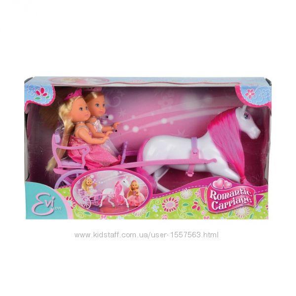Кукла Evi Simba 573 6646 Куколки Эви Принцессы в карете