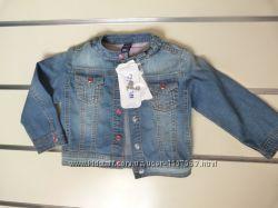 Курточка джинсовая на девочку р. 80см WOJCIK