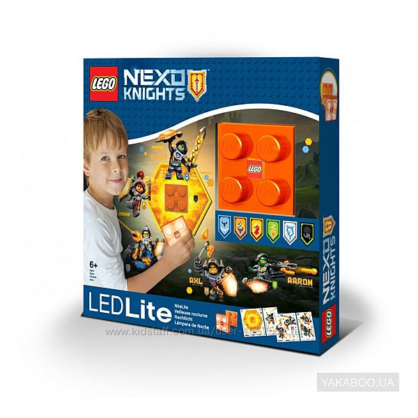 LEGO Светодиодный ночник лего Nexo Knights LGL-NI7 оригинал