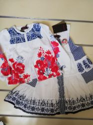 Платье летнее на девочку 3-5 лет  Catimini