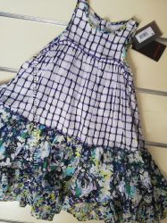 Летнее натуральное платье  Сatimini р. 116-128см