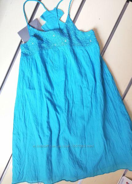 Платье летнее лен 3Pommes ростю104-140см