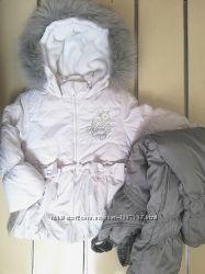 куртка со штанами комбинезон на девочку Garden baby р. 92см