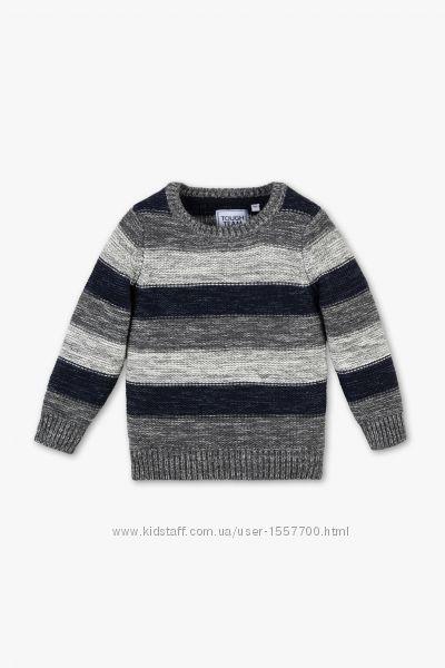 Новый хлопковый свитер, вязаная кофта р. 104 фирмы Palomino C&A
