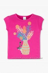 Новая яркая хлопковая футболка р. 128-134 фирмы Palomino C&A