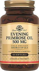 Solgar Примулы вечерней масло энотера противоспалительное 500мг, 60капс