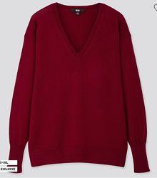 Джемпер Uniqlo, юникло, свитер, мериносовая шерсть