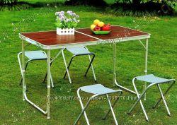Стол туристический для пикника кемпинга туризма дачи столик раскладной