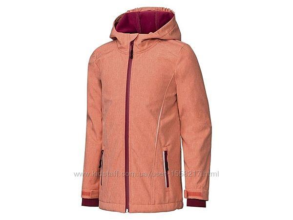 Акция Демисезонная куртка Софтшелл для девочки-подростка Crivit.