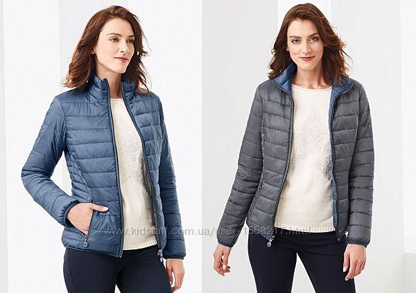 Ультралегкая реверсная стеганая куртка для женщин бренда TCM Tchibo.