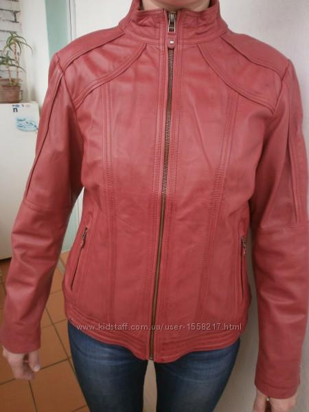 Стильная женская куртка из мягчайшей кожи Yessica Германия