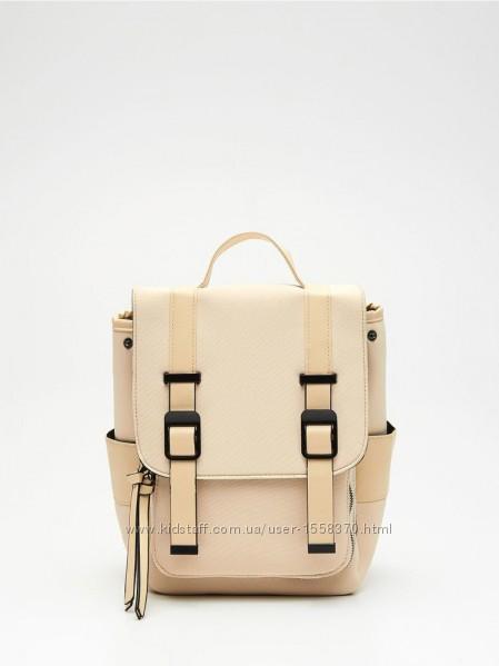 Пудровый рюкзак сумка zara  cropp