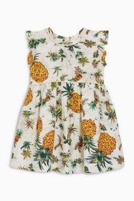 Платье некст, next на девочку 1-2 года