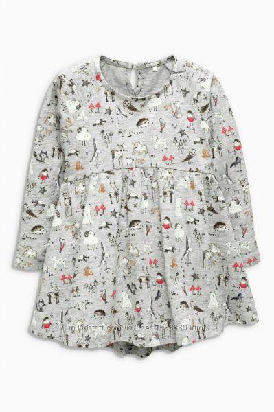 Платье на девочку 1-2 года некст