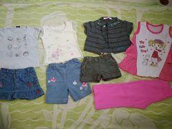 Пакет летних вещей на девочку