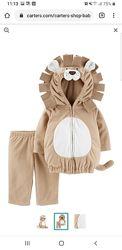 Новый супер-классный новогодний костюм Льва от Carters На 6-9 месяцев.