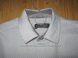 Модняча сорочка слим ikoras на 7-8 рочків