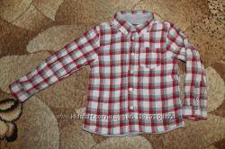 Рубашка в клетку Chicco на рост 104 или возраст 4 года