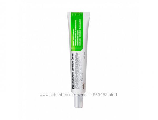 Крем для век centella green level eye  purito, с пептидами
