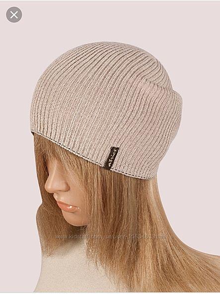 Стильная шапка - двусторонняя